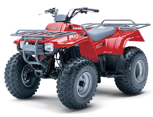 Download Kawasaki Klf-250 Bayou-250 Atv repair manual