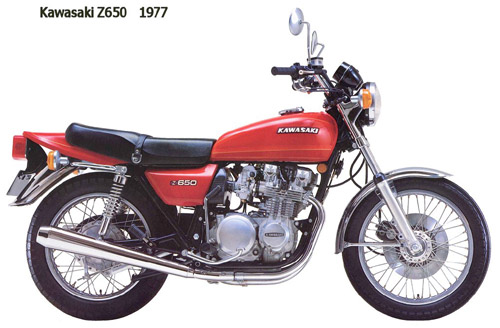Download Kawasaki Kz650 Z650 repair manual